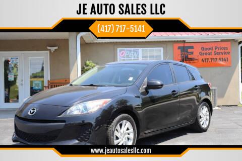 2012 Mazda MAZDA3 for sale at JE AUTO SALES LLC in Webb City MO