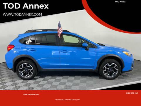 2016 Subaru Crosstrek for sale at TOD Annex in North Dartmouth MA