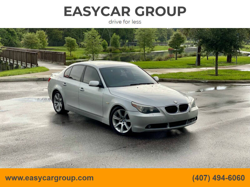 2004 BMW 5 Series for sale at EASYCAR GROUP in Orlando FL