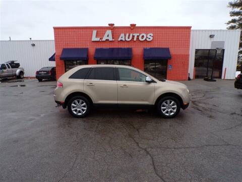 2007 Lincoln MKX for sale at L A AUTOS in Omaha NE