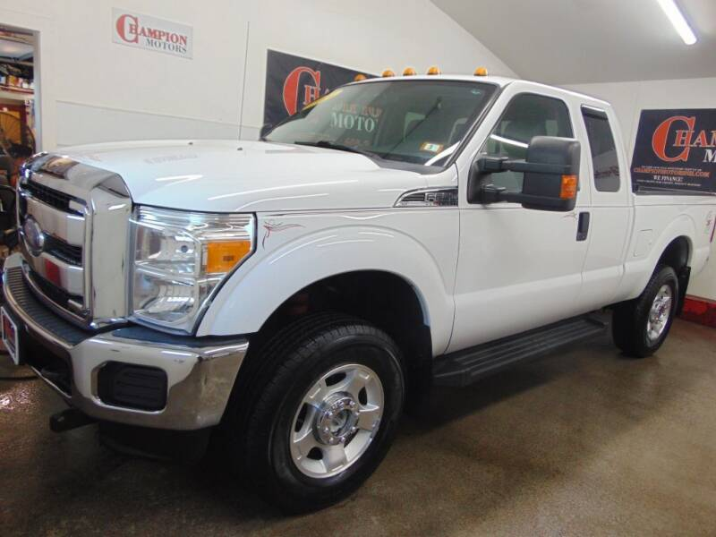 2014 Ford F-250 Super Duty for sale at Champion Motors in Amherst NH