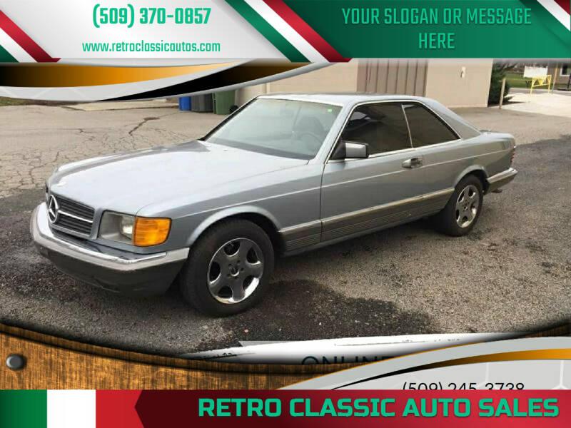 1983 Mercedes-Benz 380-Class for sale at Retro Classic Auto Sales - Classic Cars in Spangle WA