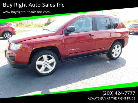 2012 Jeep Compass for sale at Buy Right Auto Sales Inc in Fort Wayne IN