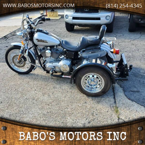 2000 Harley-Davidson DYNA GLIDE for sale at BABO'S MOTORS INC in Johnstown PA