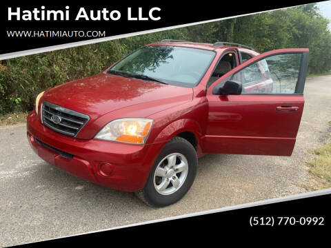 2008 Kia Sorento for sale at Hatimi Auto LLC in Buda TX