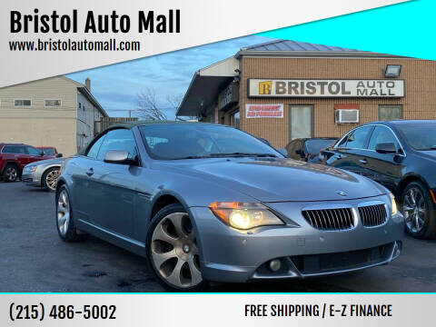 2006 BMW 6 Series for sale at Bristol Auto Mall in Levittown PA