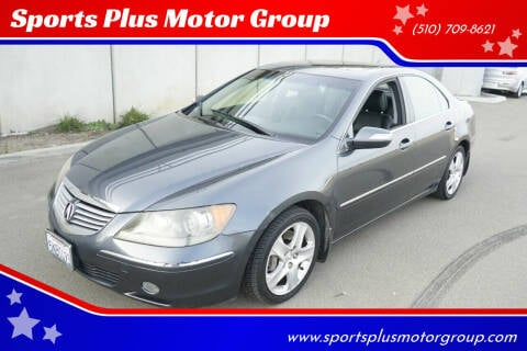 2005 Acura RL for sale at Sports Plus Motor Group LLC in Sunnyvale CA