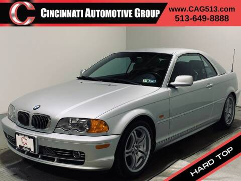 2001 BMW 3 Series for sale at Cincinnati Automotive Group in Lebanon OH