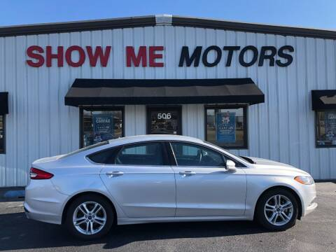 2018 Ford Fusion for sale at SHOW ME MOTORS in Cape Girardeau MO