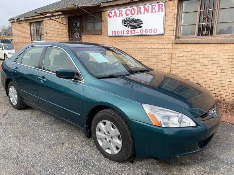 2003 Honda Accord for sale at Car Corner in Memphis TN