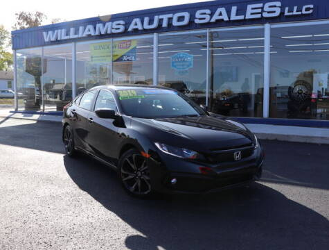 2019 Honda Civic for sale at Williams Auto Sales, LLC in Cookeville TN