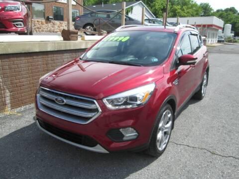 2017 Ford Escape for sale at WORKMAN AUTO INC in Pleasant Gap PA