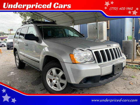 2008 Jeep Grand Cherokee for sale at Underpriced Cars in Marietta GA