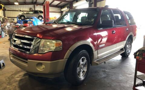 2008 Ford Expedition for sale at MILLENIUM MOTOR SALES, INC. in Rosenberg TX