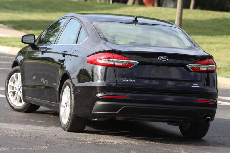 2019 Ford Fusion for sale at P M Auto Gallery in De Soto KS