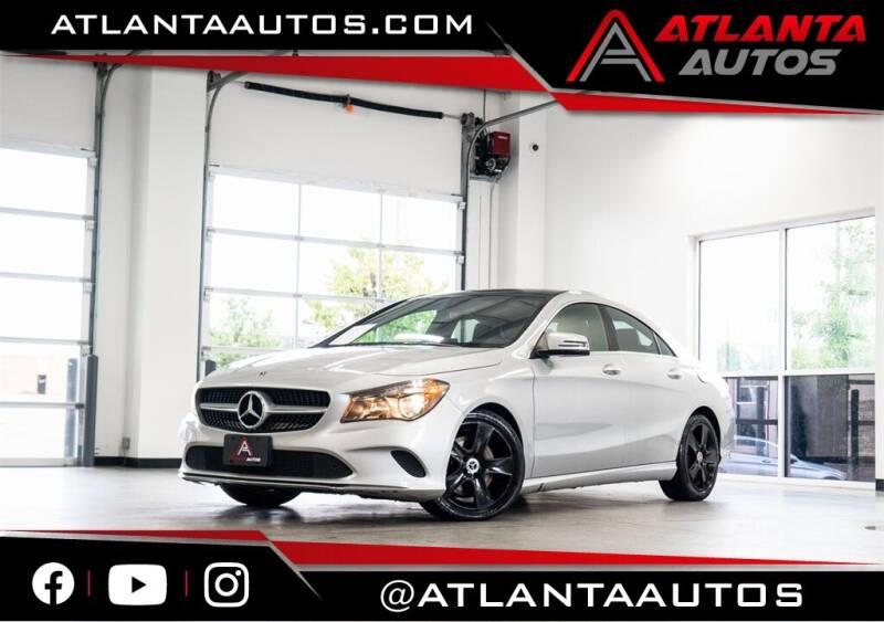 2018 Mercedes-Benz CLA for sale in Marietta, GA