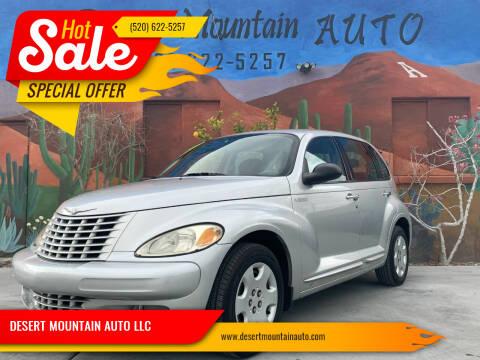 2005 Chrysler PT Cruiser for sale at DESERT MOUNTAIN AUTO LLC in Tucson AZ