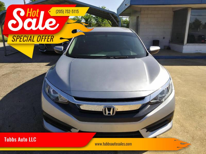 2017 Honda Civic for sale at Tubbs Auto LLC in Tuscaloosa AL