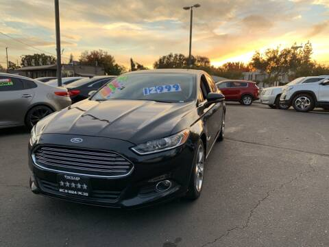 2013 Ford Fusion Hybrid for sale at 5 Star Auto Sales in Modesto CA