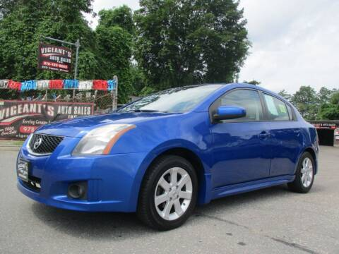 2010 Nissan Sentra for sale at Vigeants Auto Sales Inc in Lowell MA