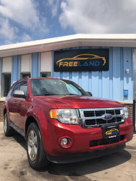 2012 Ford Escape for sale at Freeland LLC in Waukesha WI