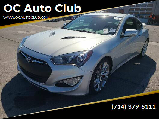 2015 Hyundai Genesis Coupe for sale at OC Auto Club in Midway City CA