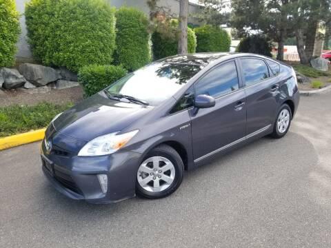 2012 Toyota Prius for sale at SS MOTORS LLC in Edmonds WA