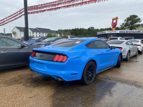 2017 Ford Mustang for sale at Direct Auto in D'Iberville MS