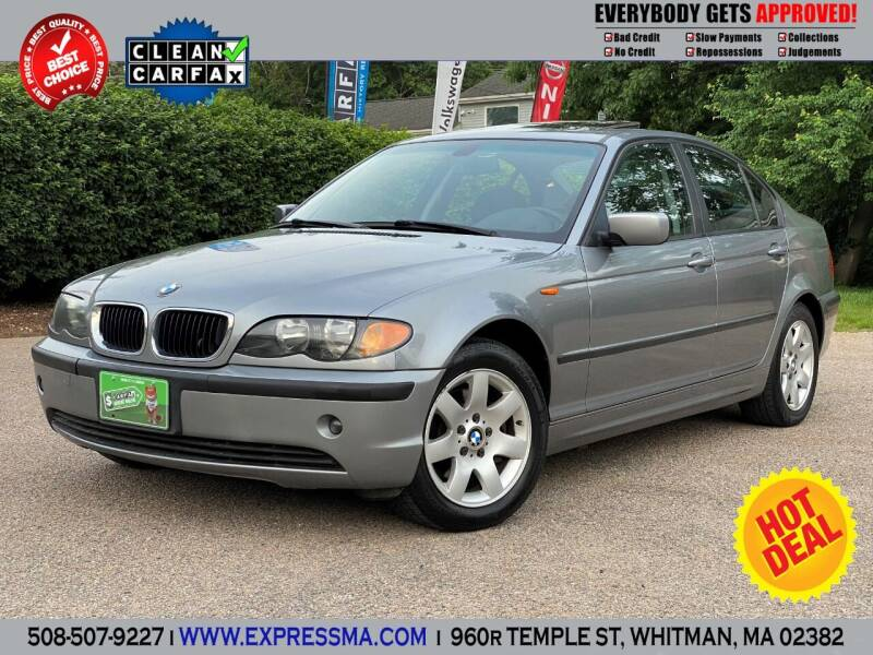 2003 BMW 3 Series for sale at Auto Sales Express in Whitman MA
