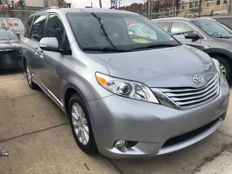 2013 Toyota Sienna for sale at Luxury 1 Auto Sales Inc in Brooklyn NY