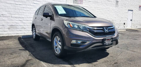 2015 Honda CR-V for sale at ADVANTAGE AUTO SALES INC in Bell CA