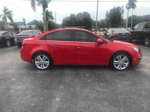 2016 Chevrolet Cruze Limited for sale at Denny's Auto Sales in Fort Myers FL
