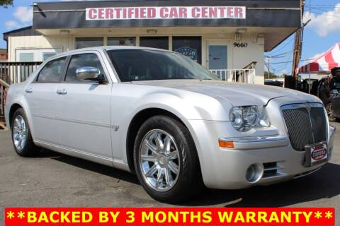 2005 Chrysler 300 for sale at CERTIFIED CAR CENTER in Fairfax VA