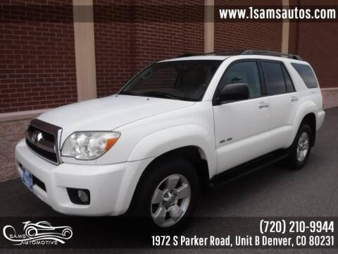 2006 Toyota 4Runner for sale at SAM'S AUTOMOTIVE in Denver CO