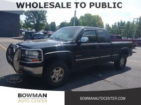 2001 Chevrolet Silverado 1500 for sale at Bowman Auto Center in Clarkston MI