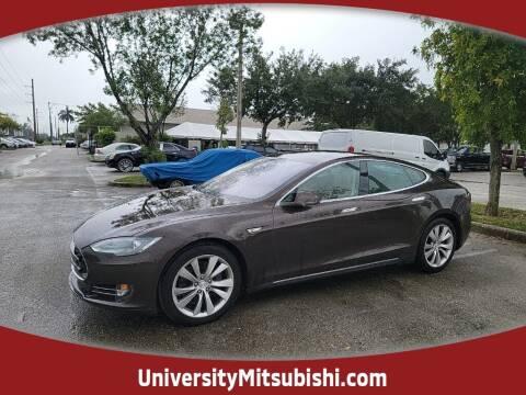 2014 Tesla Model S for sale at FLORIDA DIESEL CENTER in Davie FL