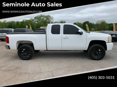 2010 Chevrolet Silverado 1500 for sale at Seminole Auto Sales in Seminole OK