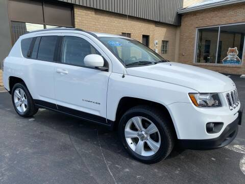 2014 Jeep Compass for sale at C Pizzano Auto Sales in Wyoming PA