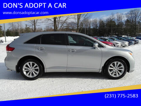 2015 Toyota Venza for sale at DON'S ADOPT A CAR in Cadillac MI