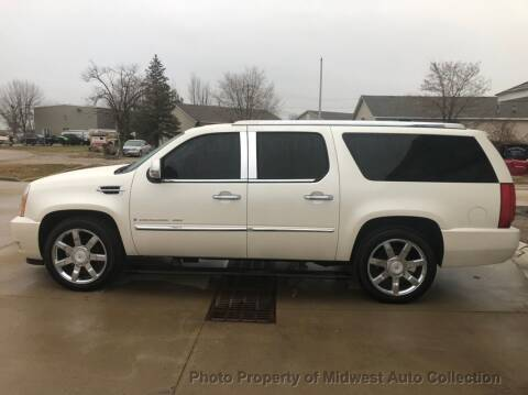 2008 Cadillac Escalade ESV for sale at MIDWEST AUTO COLLECTION in Addison IL