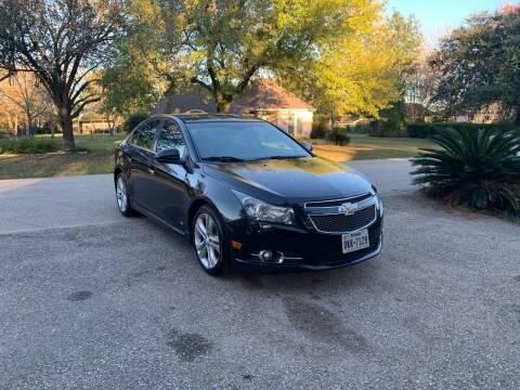 2013 Chevrolet Cruze for sale at CARWIN MOTORS in Katy TX