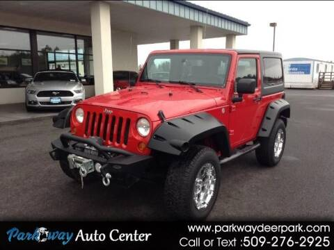 2007 Jeep Wrangler for sale at PARKWAY AUTO CENTER AND RV in Deer Park WA