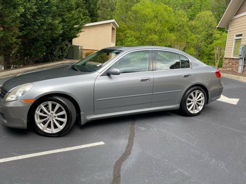 2006 Infiniti G35 for sale at Paramount Autosport in Kennesaw GA