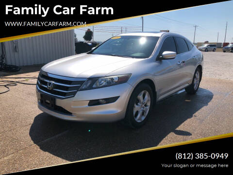 2010 Honda Accord Crosstour for sale at Family Car Farm in Princeton IN