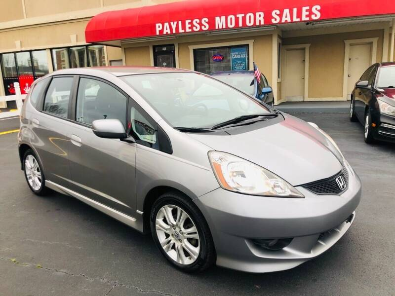 2010 Honda Fit for sale at Payless Motor Sales LLC in Burlington NC