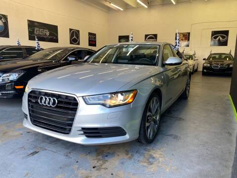 2013 Audi A6 for sale at GCR MOTORSPORTS in Hollywood FL