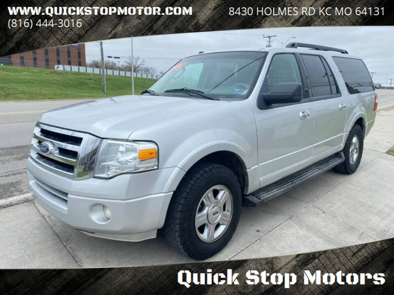 2012 Ford Expedition EL for sale at Quick Stop Motors in Kansas City MO