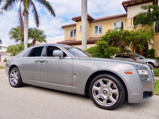 2010 Rolls-Royce Ghost for sale at Lifetime Automotive Group in Pompano Beach FL