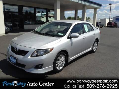 2009 Toyota Corolla for sale at PARKWAY AUTO CENTER AND RV in Deer Park WA