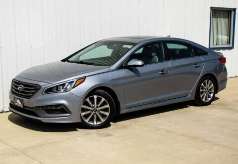 2017 Hyundai Sonata for sale at Lyman Auto in Griswold IA